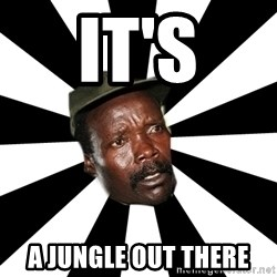 KONY 12 - It's A jungle out there