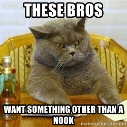 Poker Cat - these bros want something other than a nook