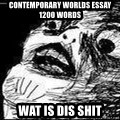 Mother Of God - Contemporary worlds essay 1200 words wat is dis shit