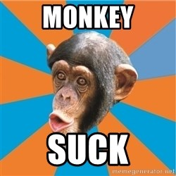 Stupid Monkey - MONKEY SUCK