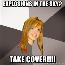 Musically Oblivious 8th Grader - explosions in the sky?  take cover!!!!