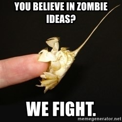 Fighty crab - You believe in zombie ideas? we fight.