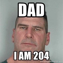 Son Am Disappoint - DAD I AM 204