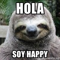 Sexual Sloth - hola soy happy