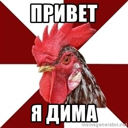 Roleplaying Rooster - привет я дима