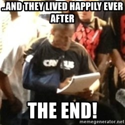 Canibus Notepad  - ..and they lived happily ever after the end!