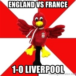 Liverpool Problems - England vs france 1-0 liverpool