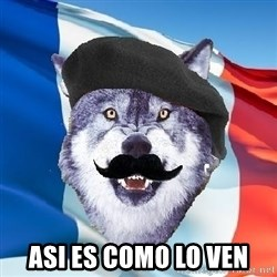 Monsieur Le Courage Wolf - asi es como lo ven