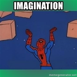 60's spiderman - imagination