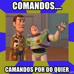 buzz lightyear 2 - comandos.... camandos por do quier