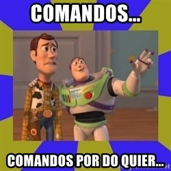 buzz lightyear 2 - comandos... comandos por do quier...