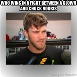 That's A Clown Question, Bro - who wins in a fight between a clown and chuck norris