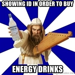 FinnishProblems - showing id in order to buy energy drinks