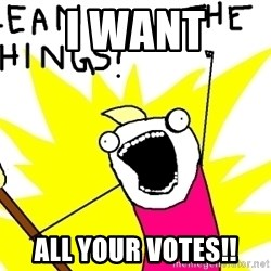 clean all the things - i want all your votes!!