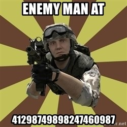 Arma 2 soldier - enemy man at 41298749898247460987