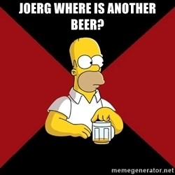 Homer Jay Simpson - joerg where is another beer?
