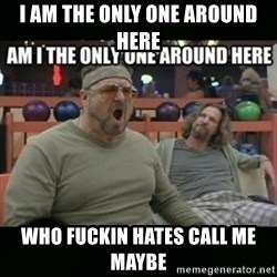 angry walter - I am the only one around here who fuckin hates call me maybe