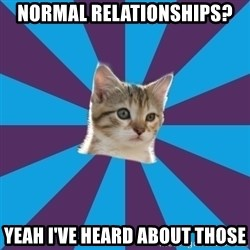Autistic Kitten - Normal Relationships? Yeah I've heard about those