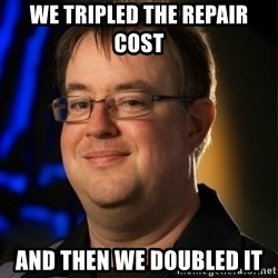 Jay Wilson Diablo 3 - We tripLED THE REPAIR COST AND THEN WE DOUBLED IT