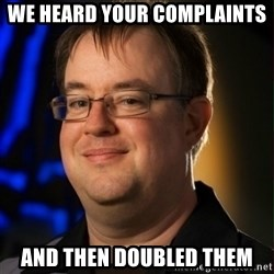 Jay Wilson Diablo 3 - WE HEARD YOUR COMPLAINTS AND THEN DOUBLED THEM
