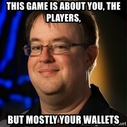 Jay Wilson Diablo 3 - This game is about you, the players, but mostly your wallets