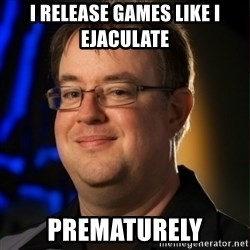 Jay Wilson Diablo 3 - I release games like I ejaculate  Prematurely
