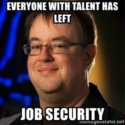 Jay Wilson Diablo 3 - Everyone with talent has left Job security