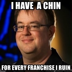 Jay Wilson Diablo 3 - i have  a chin for every franchise i ruin