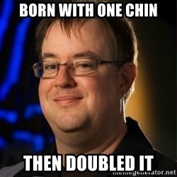 Jay Wilson Diablo 3 - born with one chin then doubled it