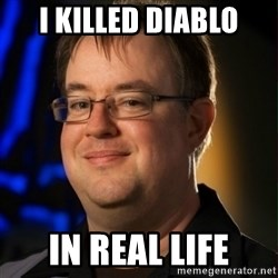 Jay Wilson Diablo 3 - I KILLED DIABLO IN REAL LIFE