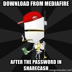 TheBotNet Mascot - Download from mediafire after the password in sharecash