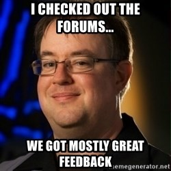 Jay Wilson Diablo 3 - I checked out the forums... we got mostly great feedback