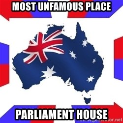 australia - most unfamous place parliament house