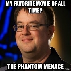 Jay Wilson Diablo 3 - My favorite movie of all time? the phantom menace