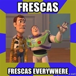 buzz lightyear 2 - FRESCAS FRESCAS EVERYWHERE