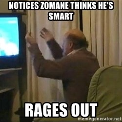 Tano pasman no estamos en la B - notices zomane thinks he's smart rages out