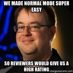 Jay Wilson Diablo 3 - We made normal mode super easy So reviewers would give us a high rating