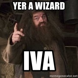 Hagrid - YER A WIZARD IVA