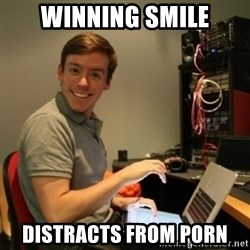 Ridiculously Photogenic Journalist - Winning Smile Distracts from porn