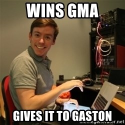 Ridiculously Photogenic Journalist - Wins gMa Gives it to gaston