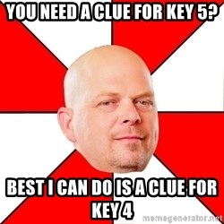 Pawn Stars - You need a Clue for Key 5? Best I can do is a Clue for Key 4