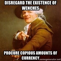 Joseph Ducreux - disregard the EXISTENCE of wenches procure COPIOUS amounts of currency
