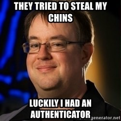 Jay Wilson Diablo 3 - THEY TRIED TO STEAL MY CHINS LUCKILY I HAD AN AUTHENTICATOR