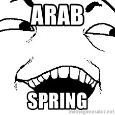 I see what you did there - ARAB SPRING