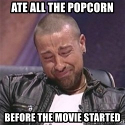 RAFALLORA - Ate all The popcorn Before the movie started