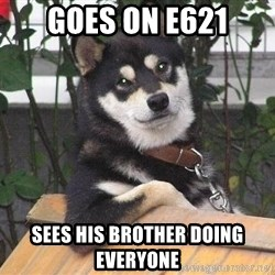 Gay Dog - Goes on e621 sees his brother doing everyone