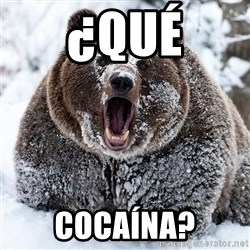 Clean Cocaine Bear - ¿qué cocaína?