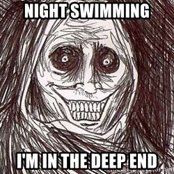 Shadowlurker - Night swimming I'm in the deep end