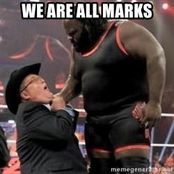 Mark Henry - WE ARE ALL MARKS