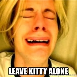 Leave Brittney Alone -  LEAVE KITTY ALONE